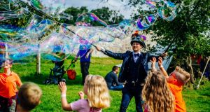 Kaleidoscope: the festival is aimed at children of all ages, as well as their parents. Photograph: Ruth Medjber