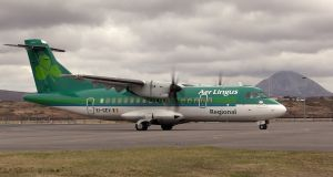 Stobart flies Aer Lingus Regional services between the Republic and provincial British airports. Photograph: Bryan O'Brien