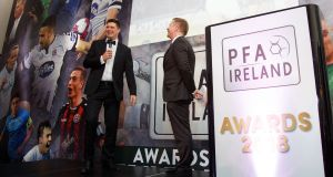 The public conversation Niall Quinn has been driving began following an invitation before Christmas to the PFAI awards night in Dublin. Photograph: Tommy Dickson/Inpho
