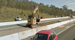 The upgrade involves widening the road from two to three lanes in both directions. File photograph: Google Street View