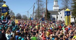 The Boston Marathon  will always be out on its own for tradition, only at times the Masters at Augusta runs it close. File photograph: Tim Bradbury/Getty Images