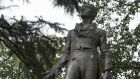 Statue of Robert Emmet on Embassy Row at 24th Street and Massachusetts Avenue, Washington: How Lincoln came to be familiar with Emmet's speech is not known. Photograph: Carol M Highsmith/Buyenlarge/Getty