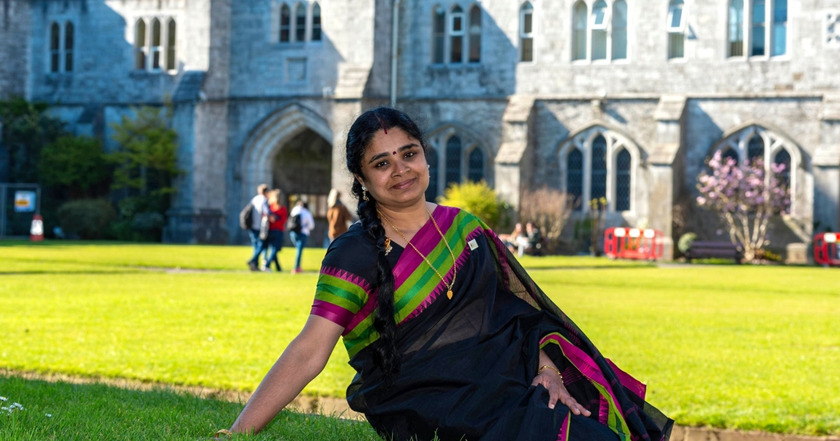 Local-election candidate: Lekha Menon Margassery, who is running as an Independent in Cork city. Photograph: Michael Mac Sweeney/Provision