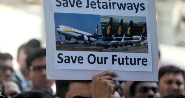 Irish lessors move to repossess aircraft from troubled Jet Airways