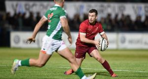 JJ Hanrahan inspired Munster to a comeback win over Benetton Treviso. Photograph: Elena Barbini/Inpho