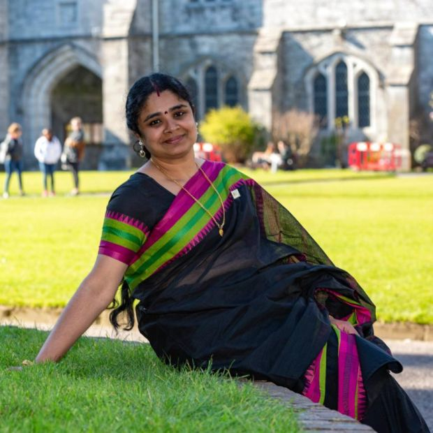 Lekha Menon Margassery, who is running as an Independent in Cork city. Photograph: Michael Mac Sweeney/Provision