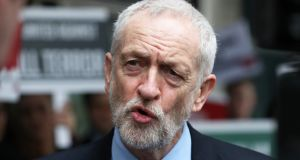 Jeremy Corbyn: insists Theresa May must compromise on her Brexit red lines if cross-party talks are to succeed. Photograph: Jonathan Brady/PA Wire