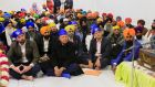 Taoiseach Leo Varadkar during a visit to the Sikh temple, Serpentine Road, Dublin for Vaisakhi which is one of the most significant events in the Sikh calendar. Photograph: Gareth Chaney Collins