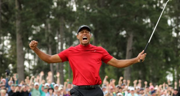 24649ad2 US Masters: Tiger Woods wins first Major in 11 years
