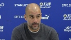 Guardiola: title is 'in our hands' after Man City beat Palace