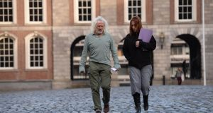 Independent TDs Mick Wallace  and Clare Daly:  'We've been thinking about running for a long time and a lot of people were asking us about it.' Photograph: Dara Mac Dónaill/The Irish Times