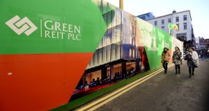 Green Reit is up for sale. Photograph: Cyril Byrne / THE IRISH TIMES