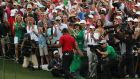 Tiger Woods after winning the 2019 Masters. Photograph: Jonathan Ernst/Reuters