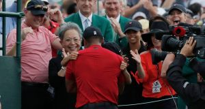 In pictures: Tiger Woods' US Masters fairytale