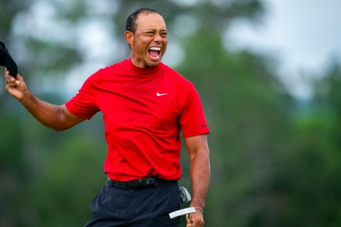 Hats off to Tiger Woods, after he captured his fifth Masters title and his 15th major tournament on Sunday, snapping a championship drought of nearly 11 years. Photograph: Doug Mills/The New York Times