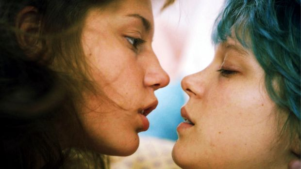 A good, serious film: Adèle Exarchopoulos and Léa Seydoux in Blue Is the Warmest Colour