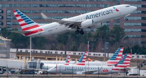 American Airlines Group is the second major US carrier to pull the grounded Boeing 737 Max from its summer  schedule. Photograph: Andrew Caballero-Reynolds/Getty Images
