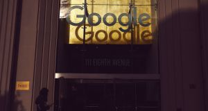 Google and other online platforms will have to sign licensing agreements with musicians, performers, authors, news publishers and journalists to use their work online. Photograph: John Taggart/The New York Times
