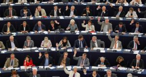 Members of the European Parliament take part in a voting session at the European Parliament in Strasbourg. File image: Reuters/Vincent Kessler