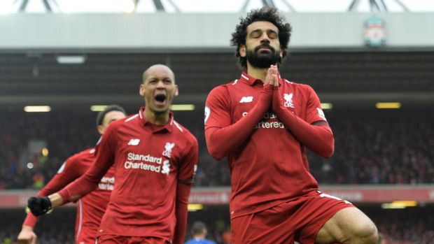 best service f8015 18dc5 Salah not Hazard provides the sparkle as Liverpool keep ...