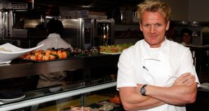 "Chef Gordon Ramsay's next London opening, Lucky Cat, will be ""an authentic Asian eating house and vibrant late-night lounge, inspired by the drinking dens of 1930s Tokyo and the far east"". Photograph: Frazer Harrison/Getty Images"