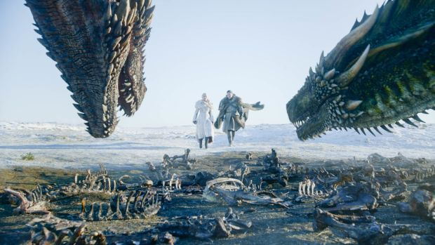 What do dragons eat? Anything they want... Game of Thrones returns with a script full of zingers. Photograph: HBO
