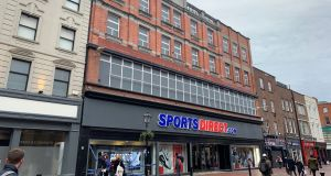 The SportsDirect premises on North Earl Street, Dublin 1, which was previously Boyers department store