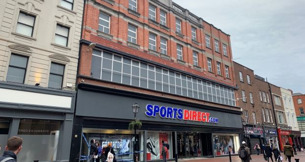 Sports Direct sells Dublin city centre flagship store for €20m
