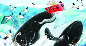 Where Are You, Puffling? by Erika McGann and illustrated by Gerry Daly. A family of puffins gets a fright.