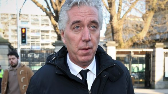 Former FAI chief executive John Delaney pictured last week. Photograph: Laura Hutton