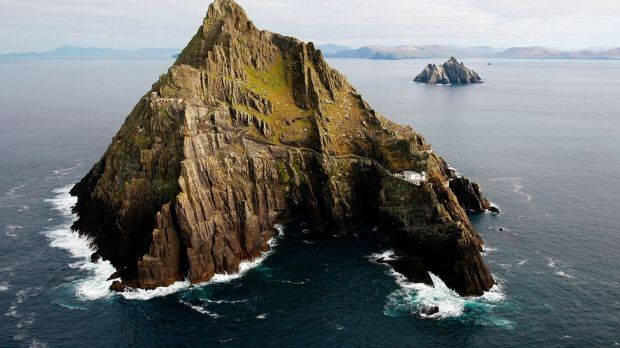 The Skelligs: There is no better way to appreciate the magnificence of the landscape than from the sea. Photograph: Brian Lawless/PA Wire