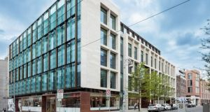 One Molesworth Street: among Green Reit's buildings on which 25 per cent tax on the increase in value may need to be paid if the trust is sold.