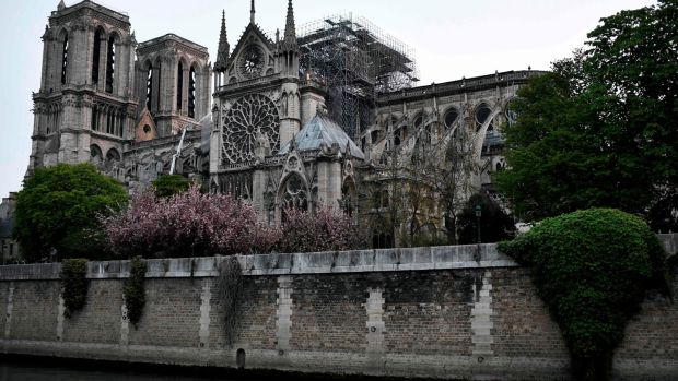 Macron: Notre Dame Cathedral will be renovated within five years