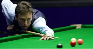 Ken Doherty was beaten by Scott Donaldson at the English Institute of  Sport in Sheffield. Photograph: Fred Lee/Getty Images
