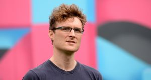 Paddy Cosgrave revealed he was behind the campaign in a post on his own Facebook page and on the Irish Tax Agency website . Photograph: Dara Mac Donaill