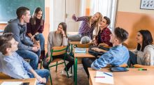 Talk to your child about what suits them, and what areas they might like to study at third-level. Photograph: iStockphoto/Getty