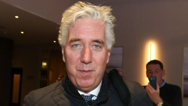 Former FAI chief executive John Delaney has temporarily stepped aside from his senior role pending an investigation. Photograph: Collins