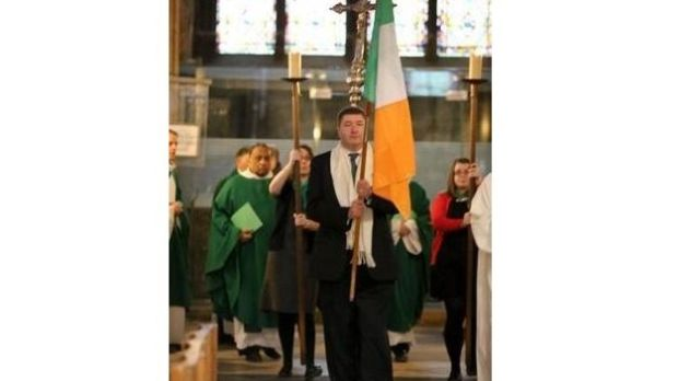 Sean Ryan: 'The cathedral is a beacon in my life in Paris and for the generations of Irish people throughout the centuries.'