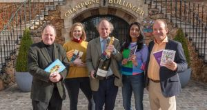 The  judging panel: broadcaster and author James Naughtie; musical comedian and improviser Pippa Evans; Everyman's Library publisher David Campbell; comedian Sindhu Vee;   and vice president of the Hay Festival and director of National Trust Wales, Justin Albert