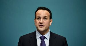 Taoiseach Leo Varadkar: 'The cost including VAT contingencies and so on could be in the region of €3 billion albeit spread over 25 years'. Photograph: Charles McQuillan/WPA Pool/Getty