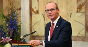 Tánaiste  Simon Coveney has said   that 'right from the outset we have been working to ensure that Irish and British citizens in Northern Ireland would continue to access rights and privileges that come with EU citizenship'. Photograph: Clodagh Kilcoyne/Reuters