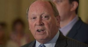 Jim Allister: the Traditional Unionist Voice leader could have a chance of sneaking the third seat if he decides to run. Photograph: Getty Images