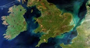 'It is likely that Brexit (in any form) will interfere with Good Friday/Belfast Agreement cross-border co-operation and place obstacles in its way in general, but in particular in the area of environmental co-operation,' the report staes. Photograph: European Space Agency