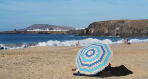 Playas de Papagayo, Lanzarote: The Canary Islands are among the most popular sun destinations at this time of year.