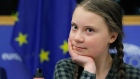 Environmental activist Greta Thunberg calls for 'cathedral thinking' to climate change
