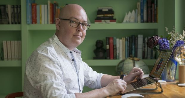 John Boyne flying flag for trans people even if he is