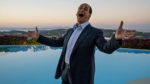 Toni Servillo as Silvio Berlusconi in Paolo Sorrentino's new film, Loro. Photograph: Gianni Fiorito