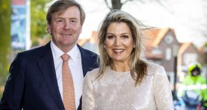 Dutch king Willem-Alexander and Queen Maxima: will visit Ireland on a two-day state visit in June. Photograph: Patrick Van Katwijk/EPA