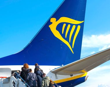 Ryanair: some people see boarding times as merely aspirational, like Brexit dates. Photograph: UIG via Getty