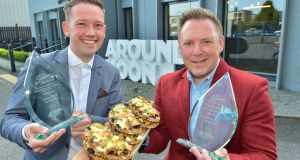 Sandwich success: Around Noon chief executive Gareth Chambers (left) and executive chef David Graham